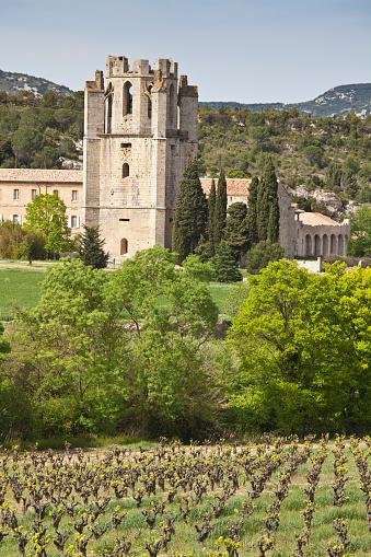 Abbey - Monastery「Lagrasse, Languedoc, France」:スマホ壁紙(18)