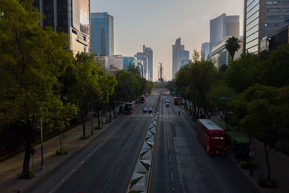 Mexico City「Aerial Views of Mexico City Under Health Emergency Until End of April」:写真・画像(7)[壁紙.com]
