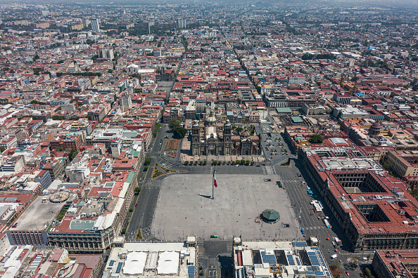 Mexico City「Aerial Views of Mexico City Under Health Emergency Until End of April」:写真・画像(6)[壁紙.com]