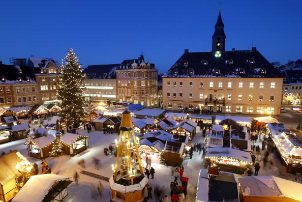 Scenics - Nature「Traditional German Christmas Market」:写真・画像(17)[壁紙.com]