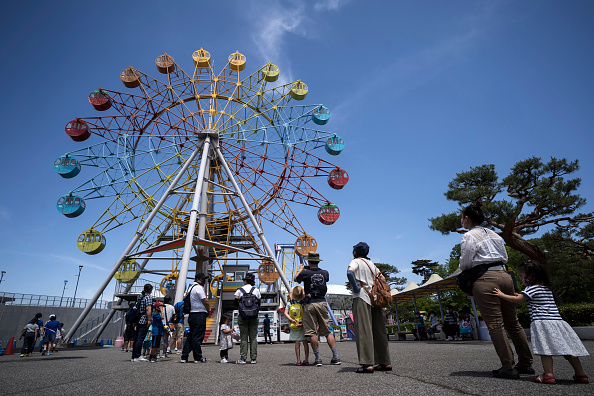 Amusement Park Ride「Japan Slowly Recovers From Coronavirus Outbreak」:写真・画像(6)[壁紙.com]