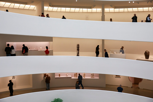 Drew Angerer「Press Preview Held For New Giacometti Exhibit At The Guggenheim」:写真・画像(16)[壁紙.com]
