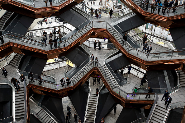 Construction Industry「New Hudson Yards Neighborhood Officially Opens In Manhattan」:写真・画像(2)[壁紙.com]
