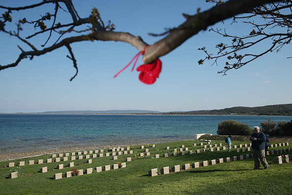 Sean Gallup「The Gallipoli Campaign: Gravestones Of Fallen Soldiers」:写真・画像(11)[壁紙.com]