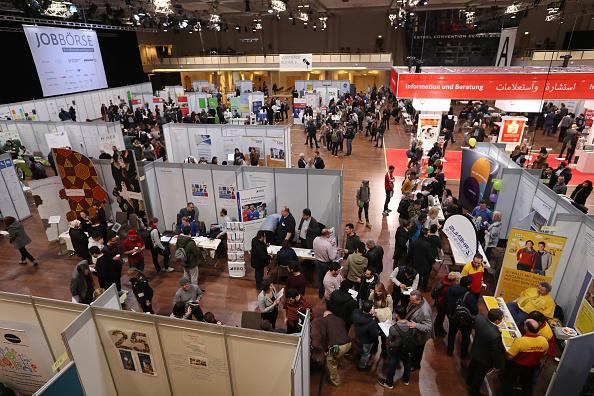 Opportunity「Berlin Holds Jobs Fair For Refugees」:写真・画像(1)[壁紙.com]