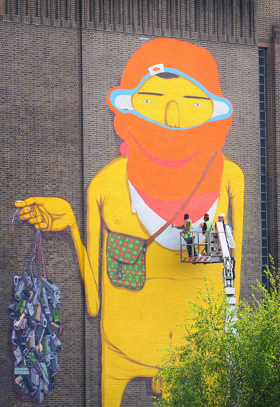 Street Art「New Street Art Commission Takes Over The Tate Modern」:写真・画像(7)[壁紙.com]