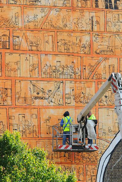 Street Art「New Street Art Commission Takes Over The Tate Modern」:写真・画像(17)[壁紙.com]
