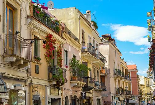 Sicily「Italy, Sicily, Taormina, Corso Umberto」:スマホ壁紙(14)