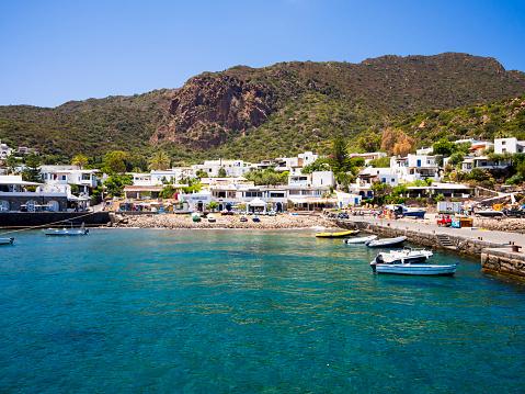 Panarea「Italy, Sicily, Aeolian Islands, Port of Panarea」:スマホ壁紙(2)