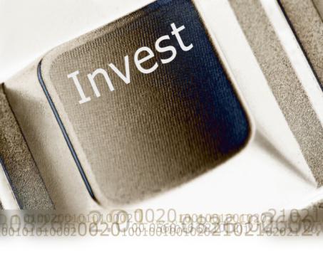 Economic fortune「Invest text」:スマホ壁紙(18)