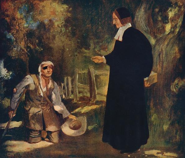 金融と経済「Bishop Ken And A Beggar」:写真・画像(18)[壁紙.com]
