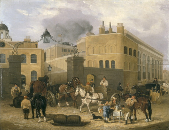 Baked Potato「'Barclay and Perkins's Brewery in Southwark', c1840.」:写真・画像(5)[壁紙.com]
