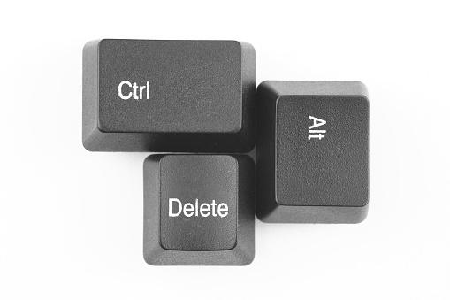 Computer Key「Control Alt Delete」:スマホ壁紙(12)