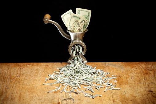 Slaughterhouse「Destroying Dollars with a grinder」:スマホ壁紙(7)