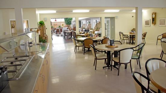 Nursing Home「Senior's Assisted Living Home Dining Area」:スマホ壁紙(9)