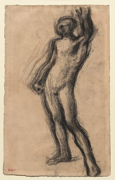 Edgar Degas「Nude Man Standing」:写真・画像(11)[壁紙.com]