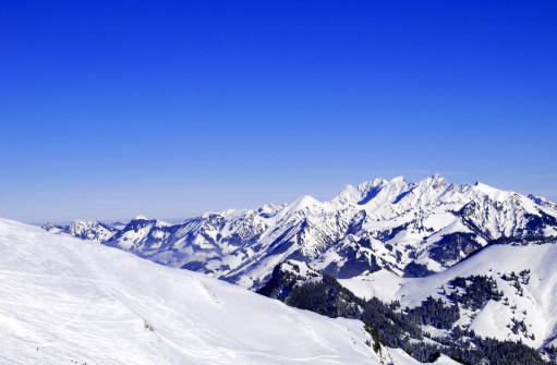 スキー「スイスアルプス」:スマホ壁紙(3)