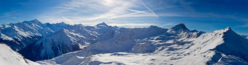 雪山「スイスアルプスの山々のパノラマ XXL」:スマホ壁紙(11)