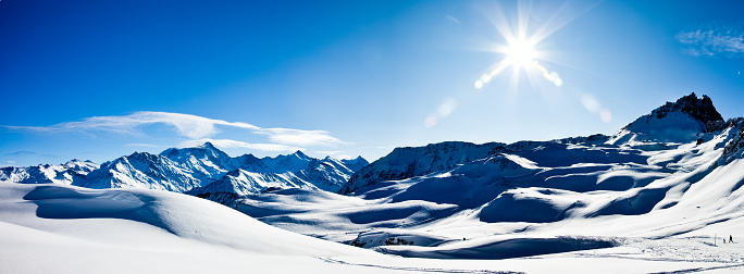 Ski Resort「Swiss Alps Mountains Panorama XXXL Vetta」:スマホ壁紙(7)