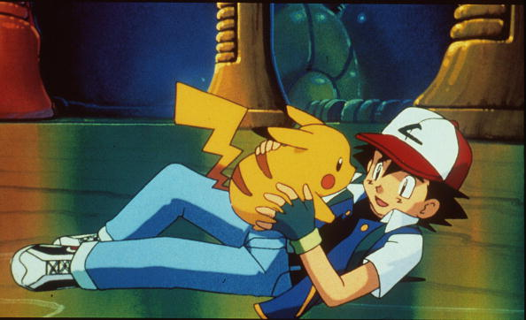 アニメ「Pikachu And Ash In The Animated Movie Pokemon:The First Movie Photo Pikachu Projects」:写真・画像(2)[壁紙.com]