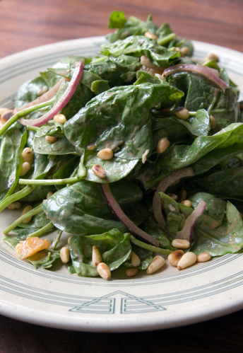Spinach「Spinach Salad with Pine Nuts」:スマホ壁紙(19)