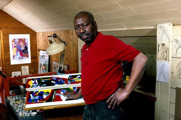 Artist「Painter Jacob Lawrence」:写真・画像(8)[壁紙.com]