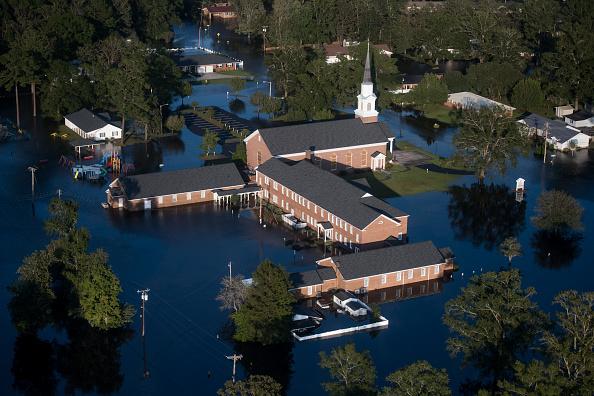 Bestpix「Carolinas Face Flooding After Hurricane Florence Lumbers Through States」:写真・画像(9)[壁紙.com]