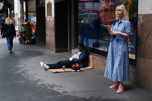 Homelessness「As NYC's Mayor De Blasio Launches A Presidential Run, Chorus Of Critics Point To Homelessness Issue In City As Sign Of His Failures」:写真・画像(8)[壁紙.com]