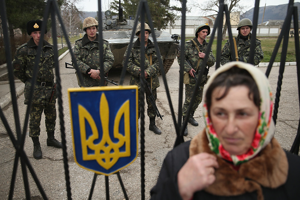 Russian Military「Concerns Grow In Ukraine Over Pro Russian Demonstrations In The Crimea Region」:写真・画像(7)[壁紙.com]
