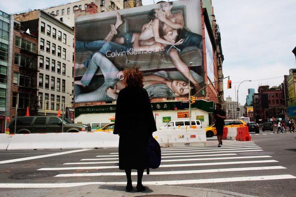 Advertisement「Calvin Klein Billboard In Manhattan's SoHo Neighborhood Stirs Controversy」:写真・画像(8)[壁紙.com]