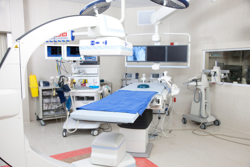 Medical Equipment「Operating room with robotic imaging system」:スマホ壁紙(12)