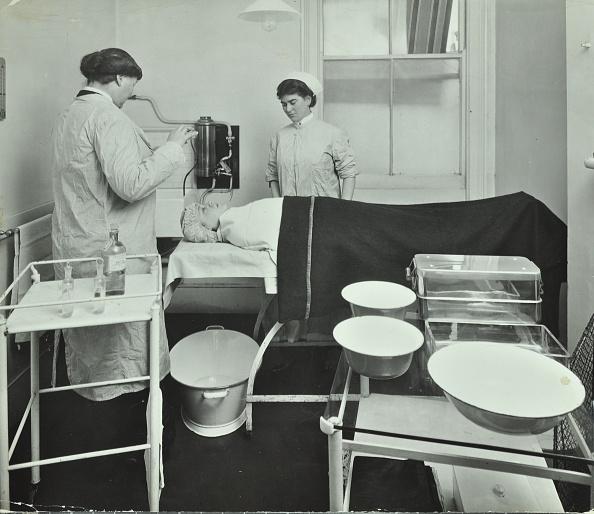 アーカイブ画像「Operating Room, Fulham School Treatment Centre, London, 1914. .」:写真・画像(7)[壁紙.com]