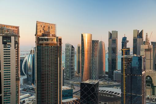 Innovation「Doha skyline,Qatar, Middle East」:スマホ壁紙(10)