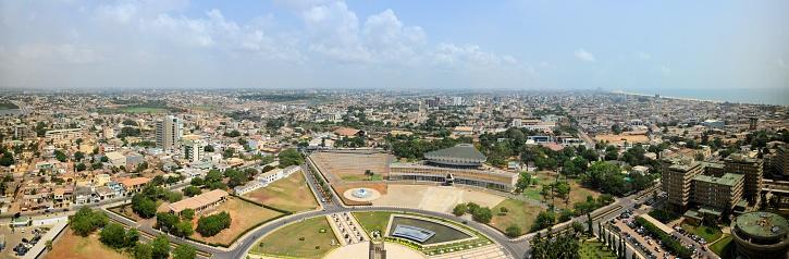 Paving Stone「Lome skyline, panoramic view - Lomé, Togo」:スマホ壁紙(3)