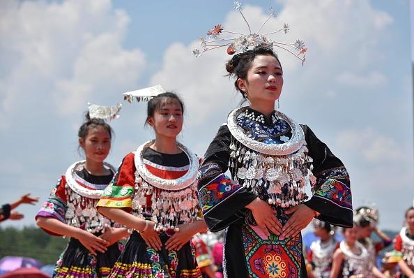 Tradition「Miao People Celebrate Traditional Festival In Guizhou」:写真・画像(6)[壁紙.com]