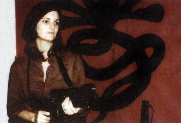 Beret「Patricia Hearst brandishing a weapon in front of SLA (Symbonese Liberation Army) april 15, 1974」:写真・画像(13)[壁紙.com]