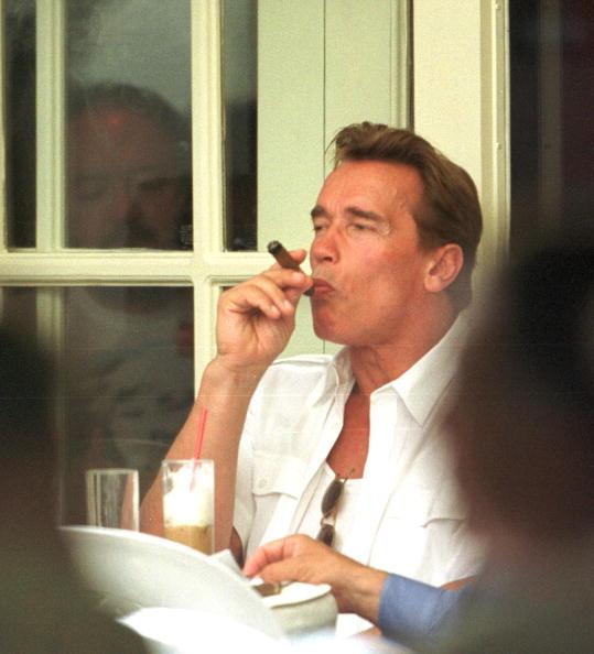 Cappuccino「Arnie Enjoys A Cigar」:写真・画像(6)[壁紙.com]
