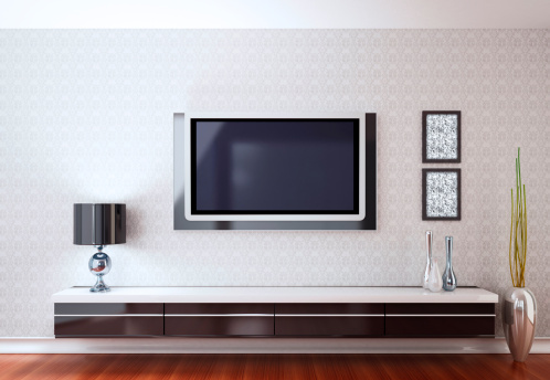 City Life「Modern Room with TV」:スマホ壁紙(5)