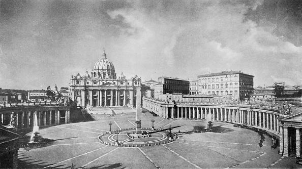 バシリカ「A Great Church Of The Renaissance: St Peters」:写真・画像(3)[壁紙.com]