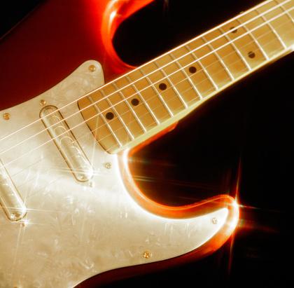 Rock Music「Rock'n roll electric guitar」:スマホ壁紙(2)