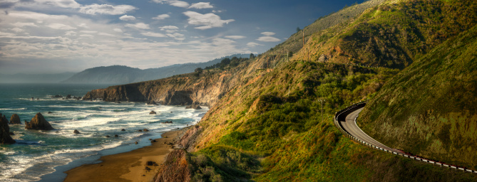 California State Route 1「Dramatic Northern California Coastline」:スマホ壁紙(9)