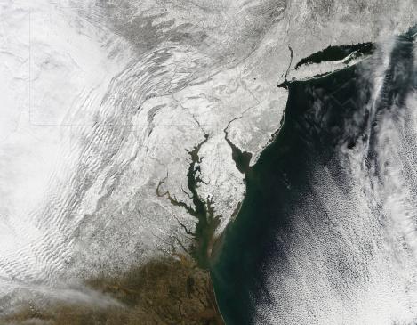 Pennsylvania「A severe winter storm along the United States east coast.」:スマホ壁紙(5)