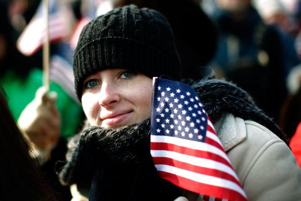 Robert Nickelsberg「Barack Obama Is Sworn In As 44th President Of The United States」:写真・画像(3)[壁紙.com]