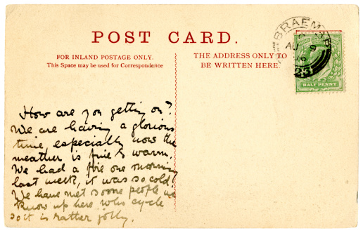 Souvenir「Postcard from Braemar, Scotland, 1906」:スマホ壁紙(5)