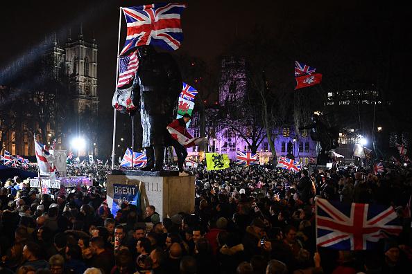 Brexit「Leave Means Leave Host Brexit Day Celebration Party」:写真・画像(17)[壁紙.com]