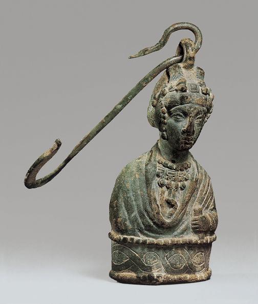 Sculpture「Steelyard Weight With A Bust Of A Byzantine Empress And A Hook」:写真・画像(10)[壁紙.com]