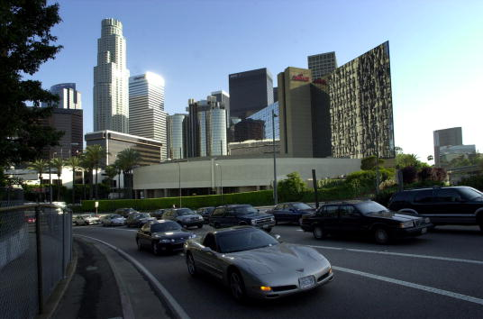 Financial District「Study Declares Los Angeles to Have Nation's Worst Traffic」:写真・画像(7)[壁紙.com]