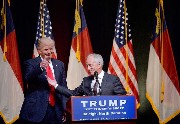 US Republican Party 2016 Presidential Candidate「Donald Trump Campaigns In Raleigh, North Carolina」:写真・画像(14)[壁紙.com]