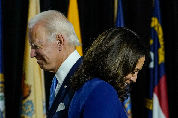 Politics and Government「Joe Biden and Running Mate Kamala Harris Deliver Remarks In Delaware」:写真・画像(19)[壁紙.com]