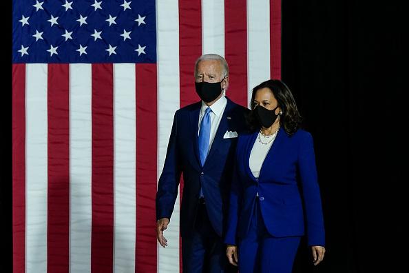 Vice President「Joe Biden and Running Mate Kamala Harris Deliver Remarks In Delaware」:写真・画像(2)[壁紙.com]